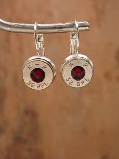 Bullet Jewelry July Birthstone Nickel 38 by thekeyofa on Etsy