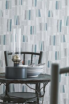 Add interest to your home by selecting this Brewster Taavi Blue Retro Geometric Wallpaper Sample. Washable and strippable. Scandi Wallpaper, Contemporary Wallpaper, Retro Wallpaper, Geometric Wallpaper, Home Wallpaper, Wallpaper For Small Bathrooms, Bathroom Wallpaper, Wallpaper Online, Wallpaper Samples