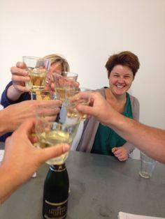 Champagne!! Want Concept Factory gaat verhuizen. We blijven binnen De gruyter fabriek, maar gaan per oktober naar de begane grond waar we een ideale cocreatie plek ontwikkelen!