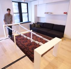 This blows me away - 8 room apartment on under 40 sqm (420 sqf)!!! http://j.mp/Vab22B - this is sooooo much better use of the surface!