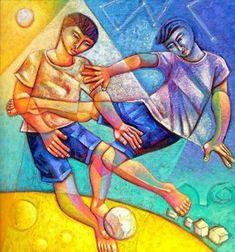 Essência de nossa gente Adélio Sarro  (Brasil, 1950) óleo sobre tela…