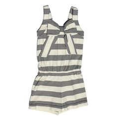 Anthem of the Ants - Girl's Striped Romper