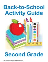 Second Grade Summer Learning Guides: Getting ready for Back to School