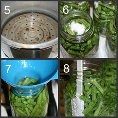 How to Can Green Beans - Blessings Overflowing Canning Tips, Home Canning, Canning Recipes, Canning Beans, Chutney, Hacks Cocina, Conservation, Can Green Beans, Canning Vegetables