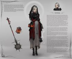Cleric - death, war, or grave? Fantasy Character Design, Character Design Inspiration, Character Concept, Character Art, Concept Art, Character Ideas, High Fantasy, Medieval Fantasy, Dark Fantasy Art