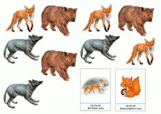 тематичексая неделя дикие животные Educational Games, Kangaroo, Moose Art, Animals, Baby Bjorn, Animales, Learning Games, Animaux, Animal