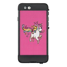 #cute - #The Majestic Llamacorn LifeProof NÜÜD iPhone 6 Case