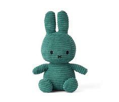 Petrolblå Miffy kosekanin, 24 cm Miffy, Tweety, Dinosaur Stuffed Animal, Toys, Animals, Leo, Cuddling, Hare, Activity Toys