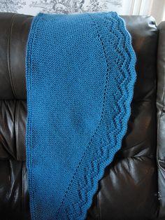 Ravelry: Stepmother Scarf/Shawl pattern by Paula Fletcher - Mom said it was nice to knit short to wide back to short Free Knit Shawl Patterns, Prayer Shawl Patterns, Knitting Patterns, Free Pattern, Knitting Ideas, Knitted Coat, Knitted Shawls, Crochet Shawl, Knit Crochet