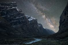 Milky Way as seen from high in the Himilayas.