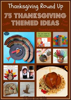 Tots and Me... Growing Up Together: Littles Learning Link Up: Thanksgiving Round Up