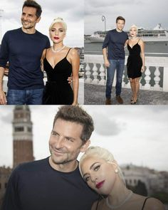 Lady Gaga and Bradley Cooper Bradley Cooper, Lady Gaga Pictures, Teen Wolf Boys, Look At The Stars, A Star Is Born, Cute Celebrities, Actors & Actresses, Hollywood Actresses, Celebrity Couples