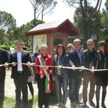 Savignano ha inaugurato la Casa dell'Acqua nel Parco Don Riccardo Cesari. #savignano #casadellacqua #parcodonriccardocesari #inaugura #cittadini #rispamioambientale