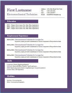 Template download free resume sample Accounting Resume Example – Free CV Template dot Org #sampleResume #FreeResume