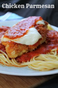 Chicken Parmesan from Awesome on 20