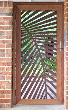 Laser Cut Metal Screen Design 47 Ideas For 2019 Screen Design, Fence Design, Laser Cut Metal, Laser Cutting, Tor Design, House Design, Laser Cut Screens, Garden Screening, Screening Ideas