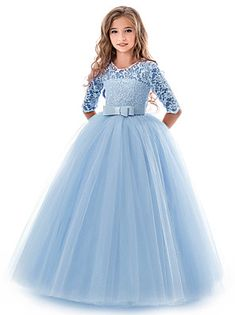 Looking for Mejorme Girl Half Sleeve Lace Tutu Princess Pageant Dresses Kids Prom Ball Gown Years ? Check out our picks for the Mejorme Girl Half Sleeve Lace Tutu Princess Pageant Dresses Kids Prom Ball Gown Years from the popular stores - all in one. Tulle Lace, Tulle Dress, Lace Dress, Dress Red, Gown Dress, Lace Bodice, Party Long Dress, Kids Long Dress, Ball Dresses