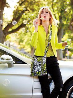 Vera Bradley Spring 2014: Hipster in Citron #vbmove