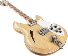 Rickenbacker 381/12V69 Natural Maple... Someday