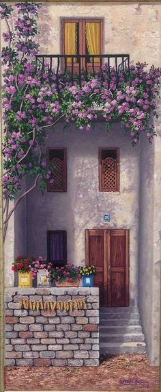 ????????? ??? ???????? ? ?????????? ? ?????? | ????????? & Photograph Tuscan Doorway by Mike Biggs on 500px | window boxes ...