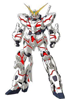 GundamUnicorn - Gundam UC - Mecha