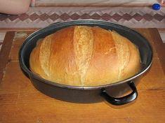 55 ft-ból készíthető el ez a kenyér - receptel! Czech Recipes, My Recipes, Dessert Recipes, Cooking Bread, Bread Baking, Slow Cooker Recipes, Cooking Recipes, Super Cookies, Our Daily Bread