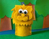 Leo The Lion - Finger Puppet with song