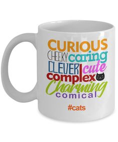 This #coffeemug makes a great #gift for #catlovers on their birthday, Christmas or any occasion. This 11 oz. mug is made from the highest grade ceramic, and the designs are printed and sublimated in the United States. It is 100% dishwasher and microwave safe; the print will never fade. Free shipping everyday with no minimum order required. #giftideas #catmom #catladygift #CatLoverMug #catmomgift #catloversmug #birthdaygiftideas #Chistmasgiftguide #holidaygiftideas