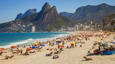 Best Party Beach: Ipanema Beach, Rio de Janeiro, Brazil