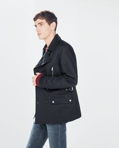 ZARA - SALE - DOUBLE-BREASTED TRENCH COAT
