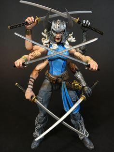 Spiral (Marvel Legends) Custom Action Figure by warrack  Base figure: MLs