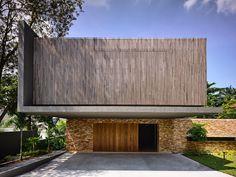 Desain Rumah Tropis dgn konsep  japanese shakkei karya ONG & ONG