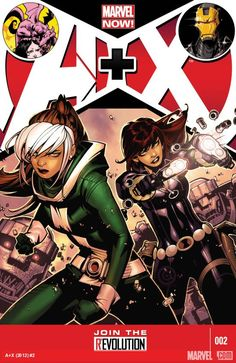 A+X (2012) #2. Black Widow and Rogue