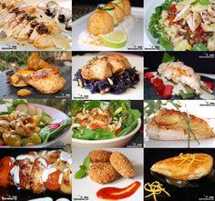 12 receptes lleugeres amb pollastre Comida India, Mexican Food Recipes, Ethnic Recipes, Tostadas, Baked Potato, Risotto, Chicken Recipes, Food And Drink, Treats