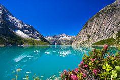 Lake Gelmersee, Switzerland