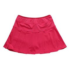 TopTie Women Multi-Pleat Tennis Skirt, Pockets Skirt Skort >>> Check out the image by visiting the link.