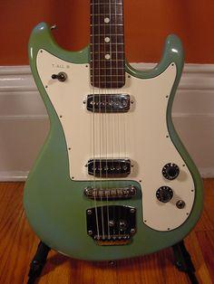 1960s Contessa Guitar (Green)