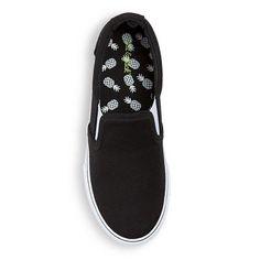 Boys' Pete Twin Gore Canvas Sneakers Cat & Jack - Black 13