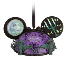 The Haunted Mansion Ear Hat Ornament   Ornaments   Disney Store