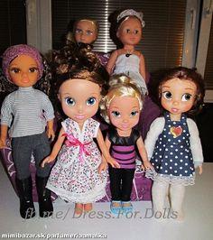 Oblečenie na bábiky NANCY SOFIA DISNEY ANIMATOR