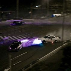 Discovered by Kairo Jaxon Zarovski. Find images and videos about night, purple and car on We Heart It - the app to get lost in what you love. Urbane Fotografie, Foto Top, Jdm Wallpaper, Street Racing Cars, Ski Racing, Kart Racing, Racing Helmets, Racing Motorcycles, Drifting Cars