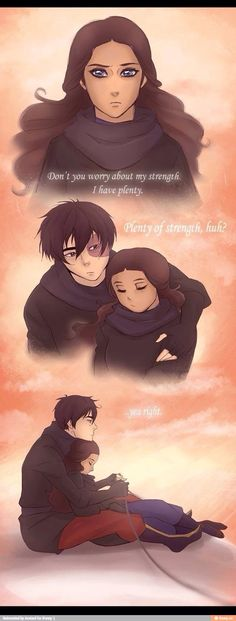 I ship Kataang but I like this picture