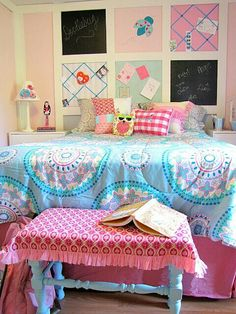 Girl bedroom.. color combination is perfect