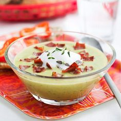 Snabb soppa med plasternacka, purjo och bacon
