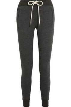Splendid - Tahoe Stretch-jersey Track Pants - Dark gray - x small