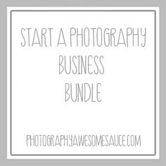 Start a Photography Business Guide