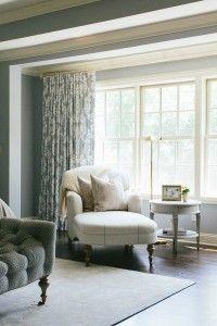 Bedroom Drapery. Bedroom Drapery Ideas. Bedroom Drapery Fabric. #BedroomDrapery Kate Marker Interiors.