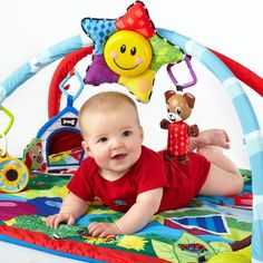 Keep baby entertained for hours with the Baby Einstein Caterpillar and Friends Play Gym. Find yours at @babiesrus: http://www.toysrus.com/buy/stationary-entertainers/baby-einstein-caterpillar-and-friends-activity-gym-90575-11838285  #BabyEinstein