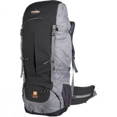Vango – Contour 60+10  Redesigned for 2011, the adjustable harness and ergonomic hip belt on this robust rucksack are shaped for optimum fit and comfort. A large main compartment, a base compartment and multiple pockets give you plenty storage options, with expandable side pockets for overspill.