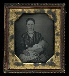 Early Post Mortem Daguerreotype Photo